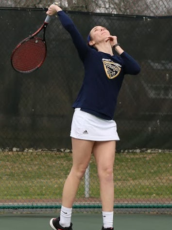 E&H Women's And Men's Tennis Drop Matches Versus Covenant, 7-2 and 9-0, Saturday Evening
