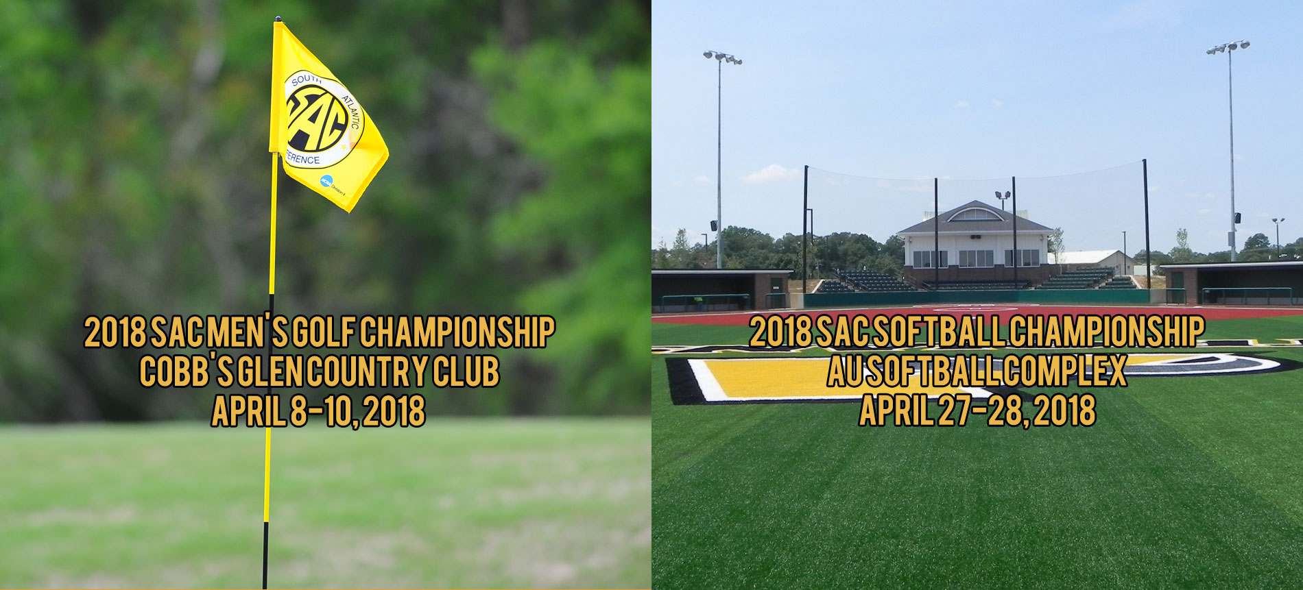 Anderson University to Host South Atlantic Conference Men's Golf and Softball Championships in 2018