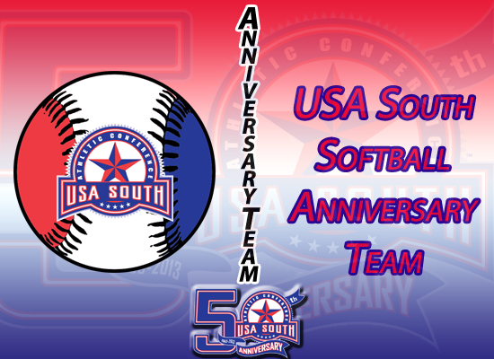 USA South Announces 50th Anniversary Softball Team