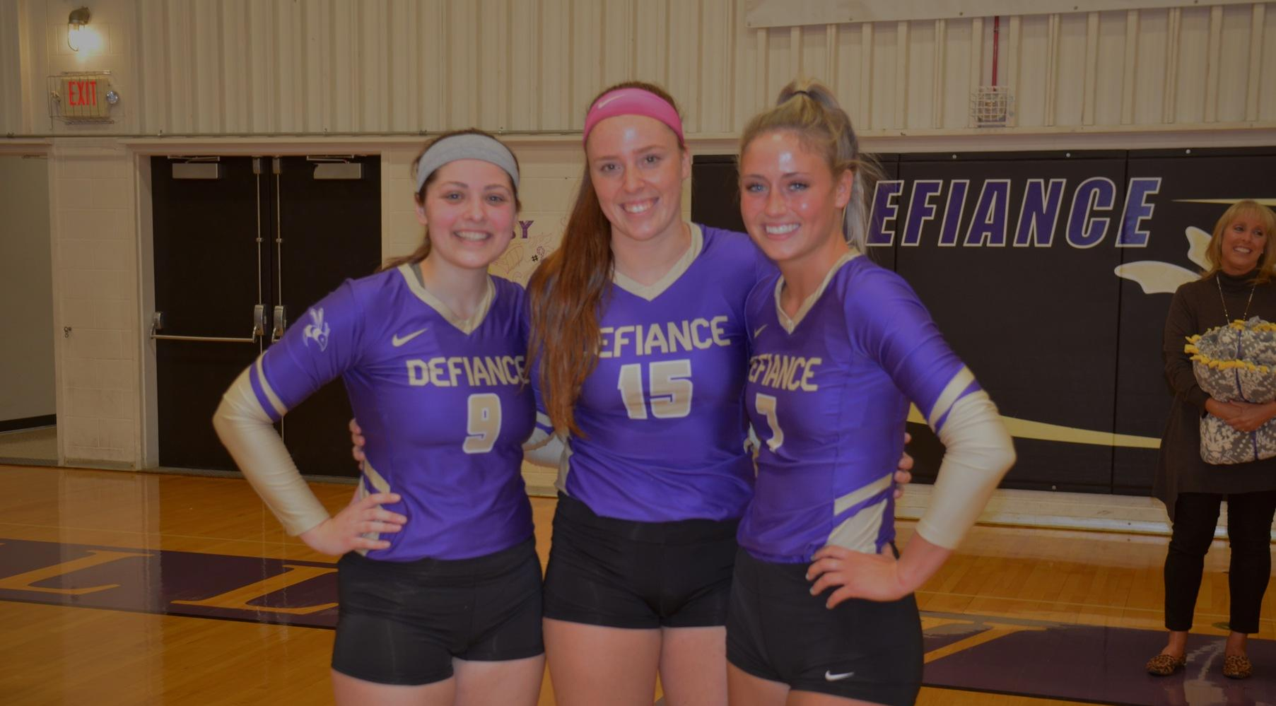 Senior Day Success Sends Volleyball into Postseason on Win Streak