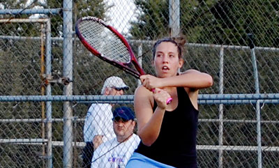 Women's Tennis comes up short in Landmark Play