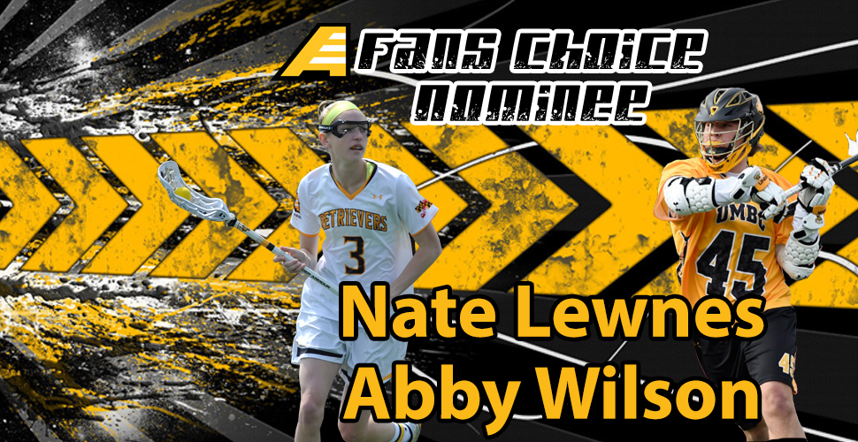 UMBC's Lewnes and Wilson Named Nominees for AEC Fans' Choice Players of the Year