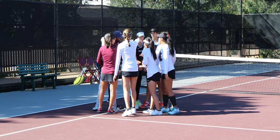 Women's Tennis Ties Program Record, Clinching Third Consecutive CACC Tournament Berth with 5-2 Win at Chestnut Hill