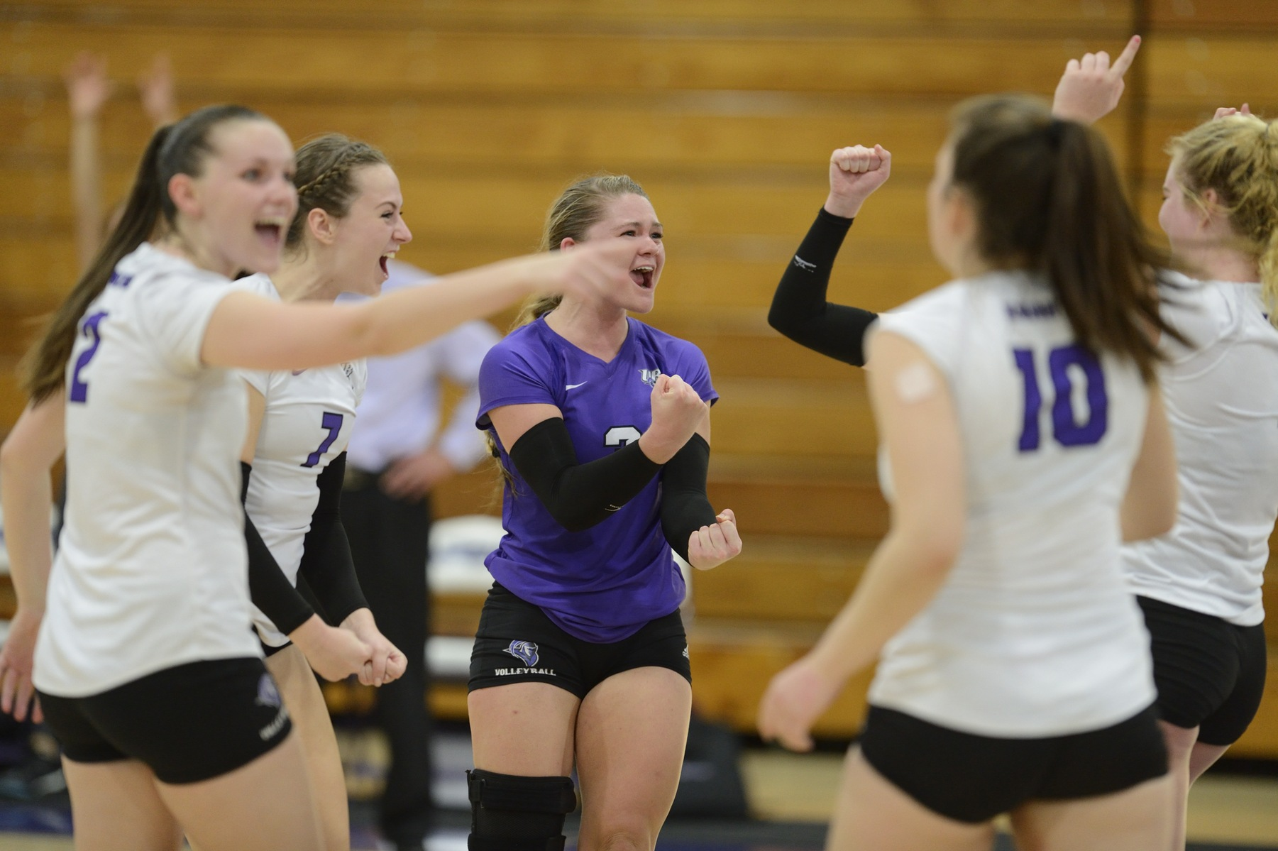 Purple Knights Back In Volleyball Win Column With ECC Home Sweep Over Daemen