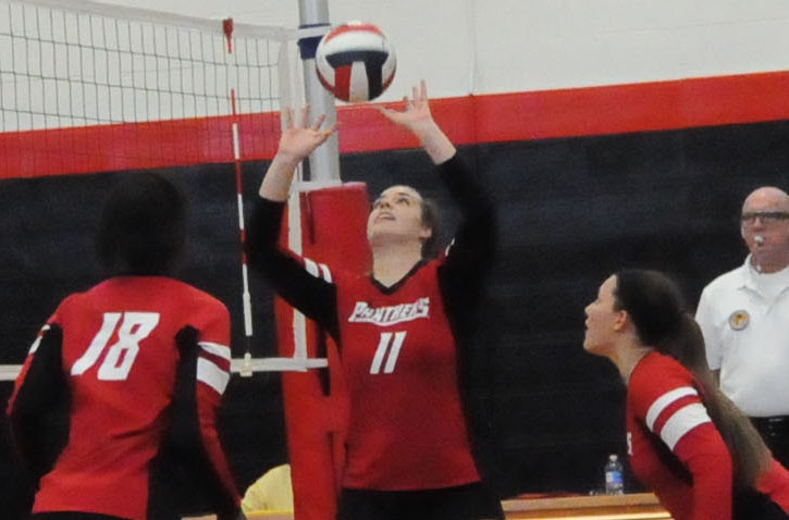 Volleyball: Panthers split USA South matches on Saturday
