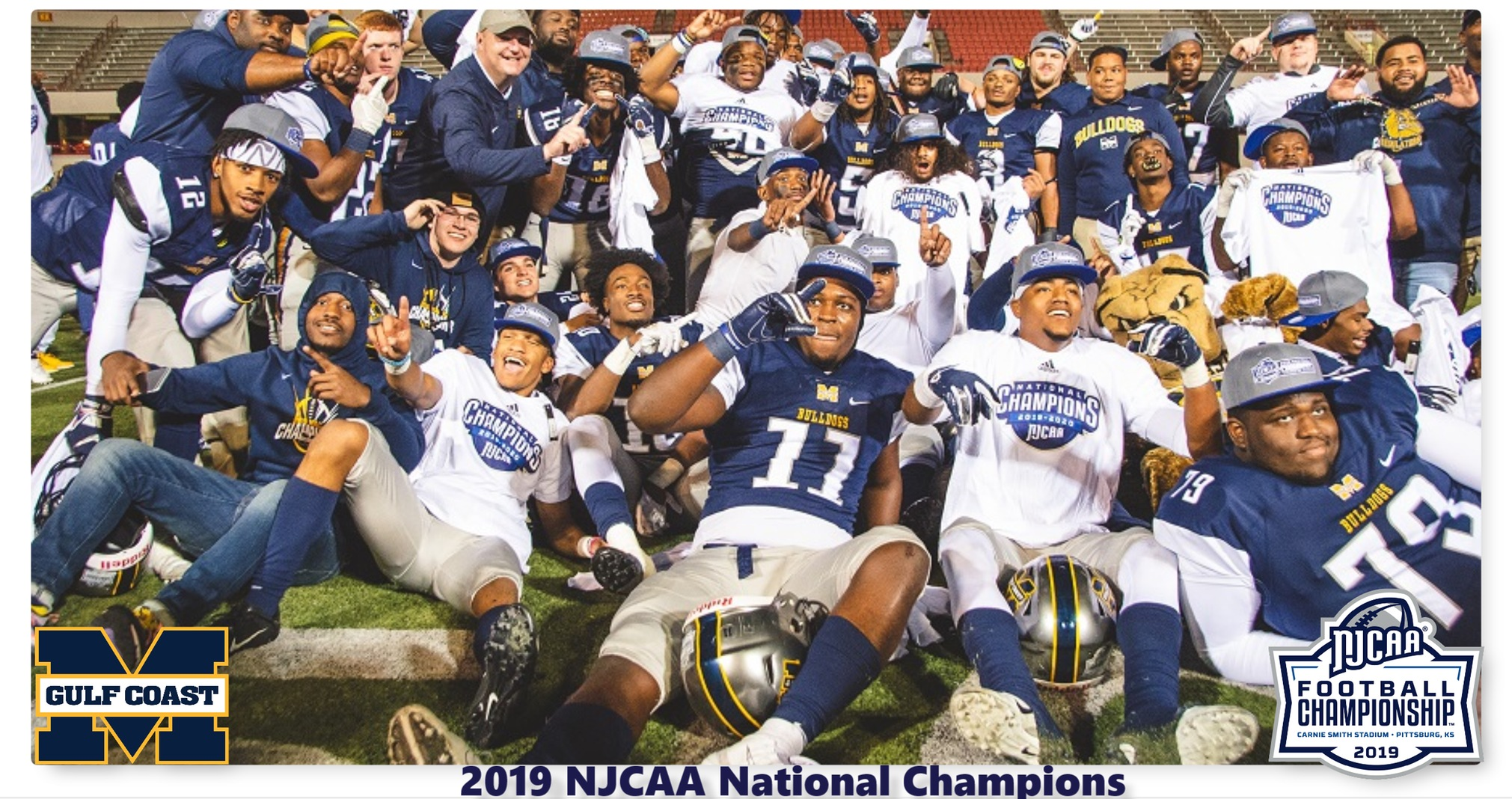 MISSISSIPPI GULF COAST WINS 5TH NATIONAL CHAMPIONSHIP