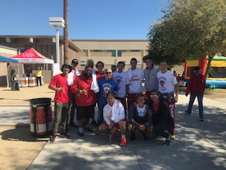 Men's tennis participates in brain cancer research fund raiser