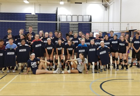 High School Volleyball Camp 2018