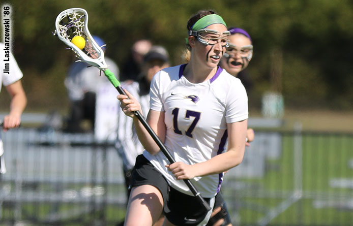 Women's Lacrosse Forges Second-Half Rally Before Falling to Molloy, 13-10