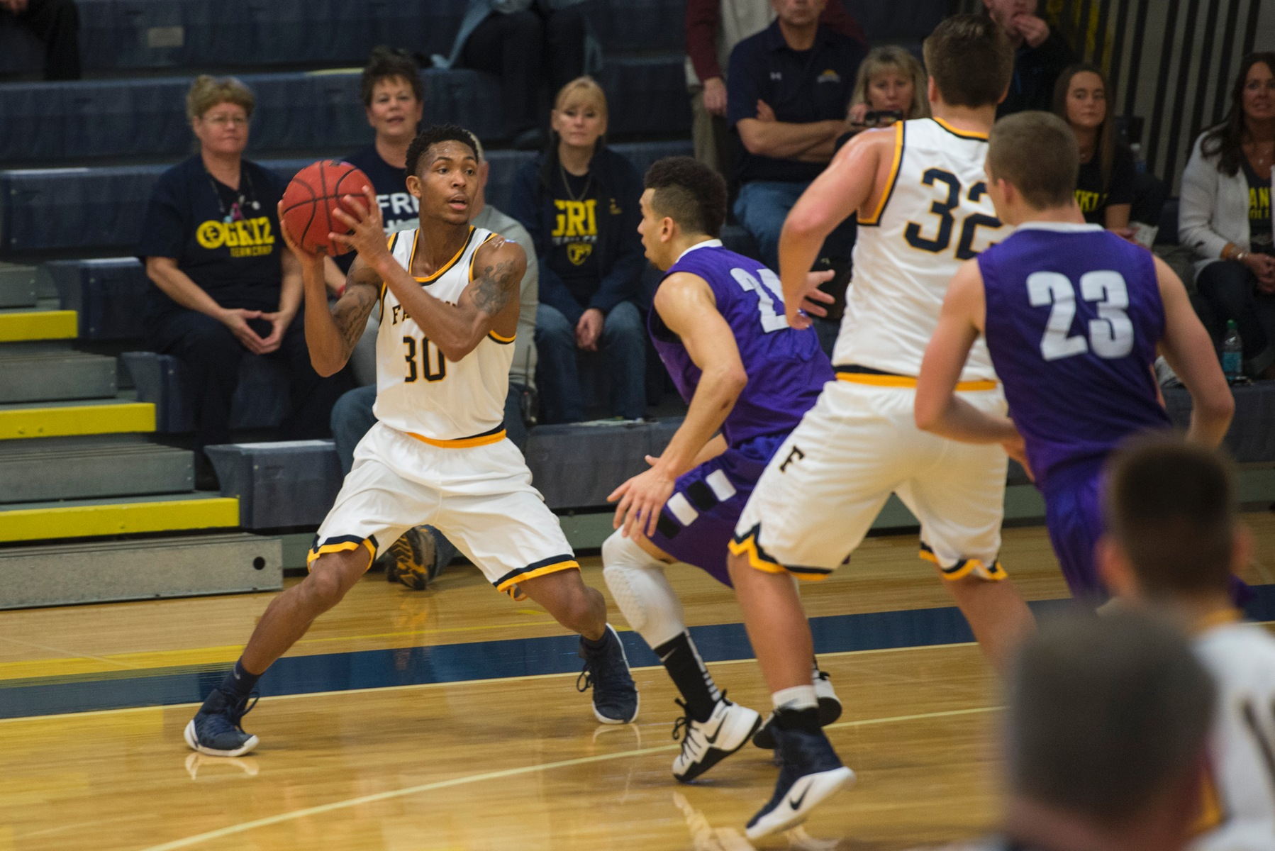 Men's Basketball Team falls at Mount St. Joseph