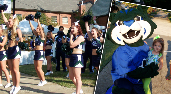 Bobcat Cheer, Thunder Have Fun at Fall Line Farmers Market