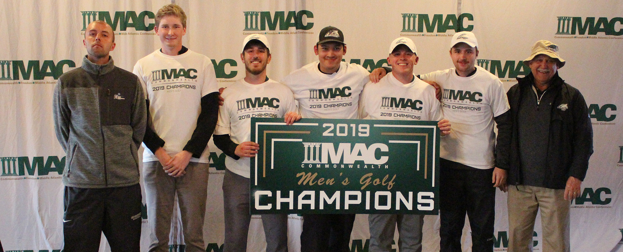 Men's Golf Wins Fourth Straight MAC Commonwealth Championship