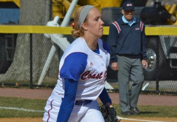Kahl solidifying herself as next Coast Guard ace, Bears win two at NEWMAC tournament