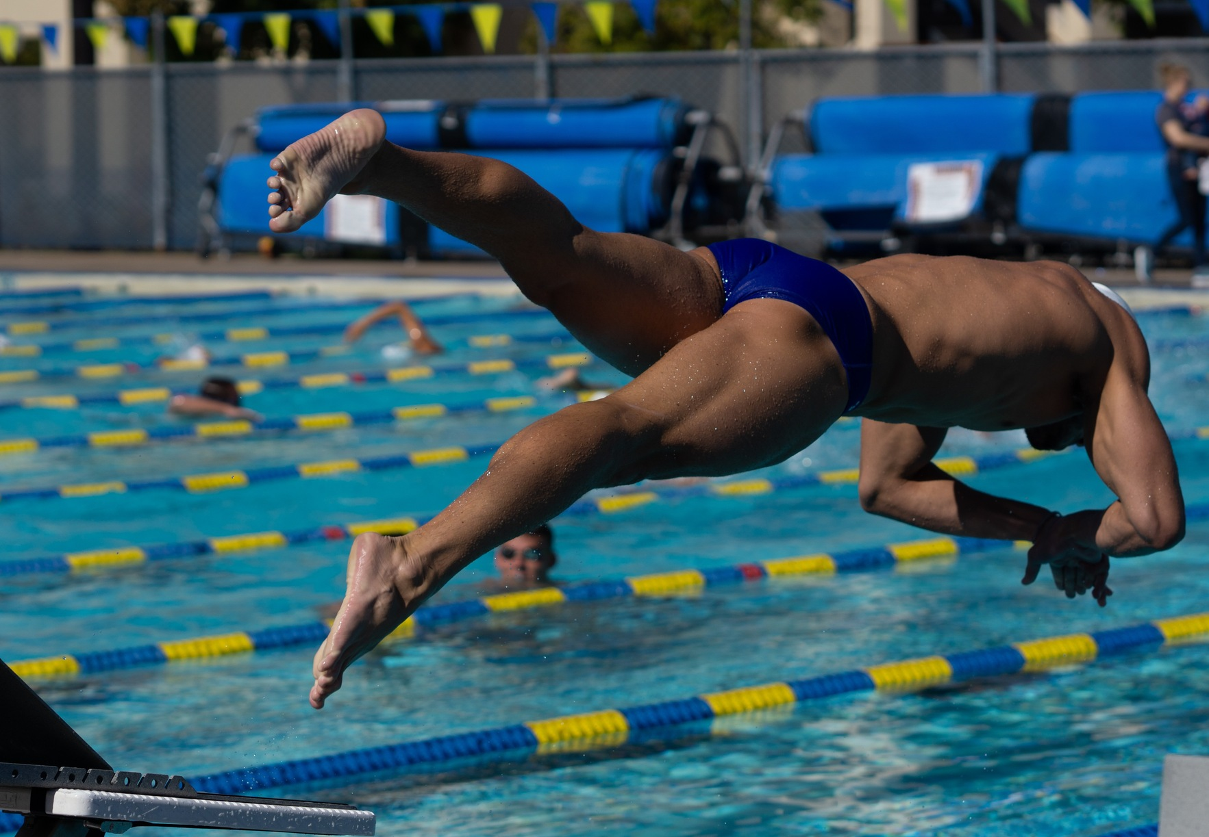The Gauchos Take a Win and a Loss at UNLV Dual Meet
