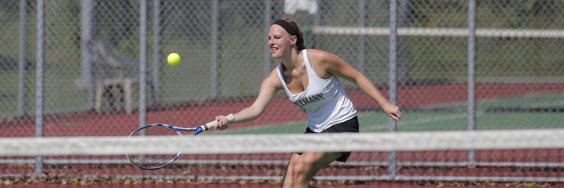 Women's Tennis takes 9-0 loss to Mount Aloysius