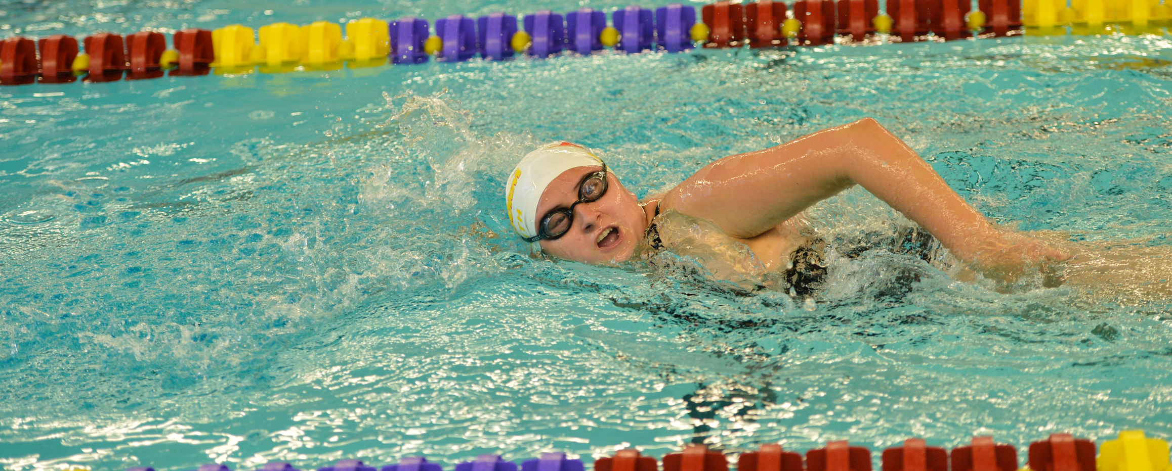 Women's swimming in sixth place after day one of Pioneer Classic
