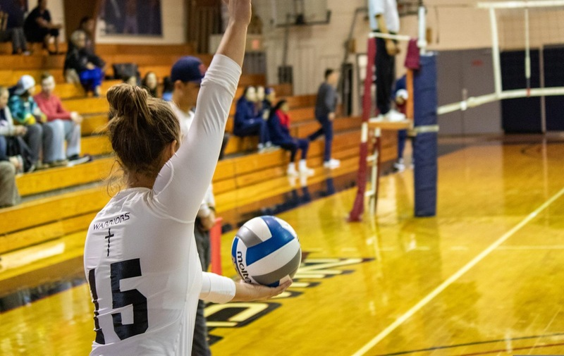 Warriors Volleyball Fall to Mercy and St. Rose in Season Opener Tri-Match