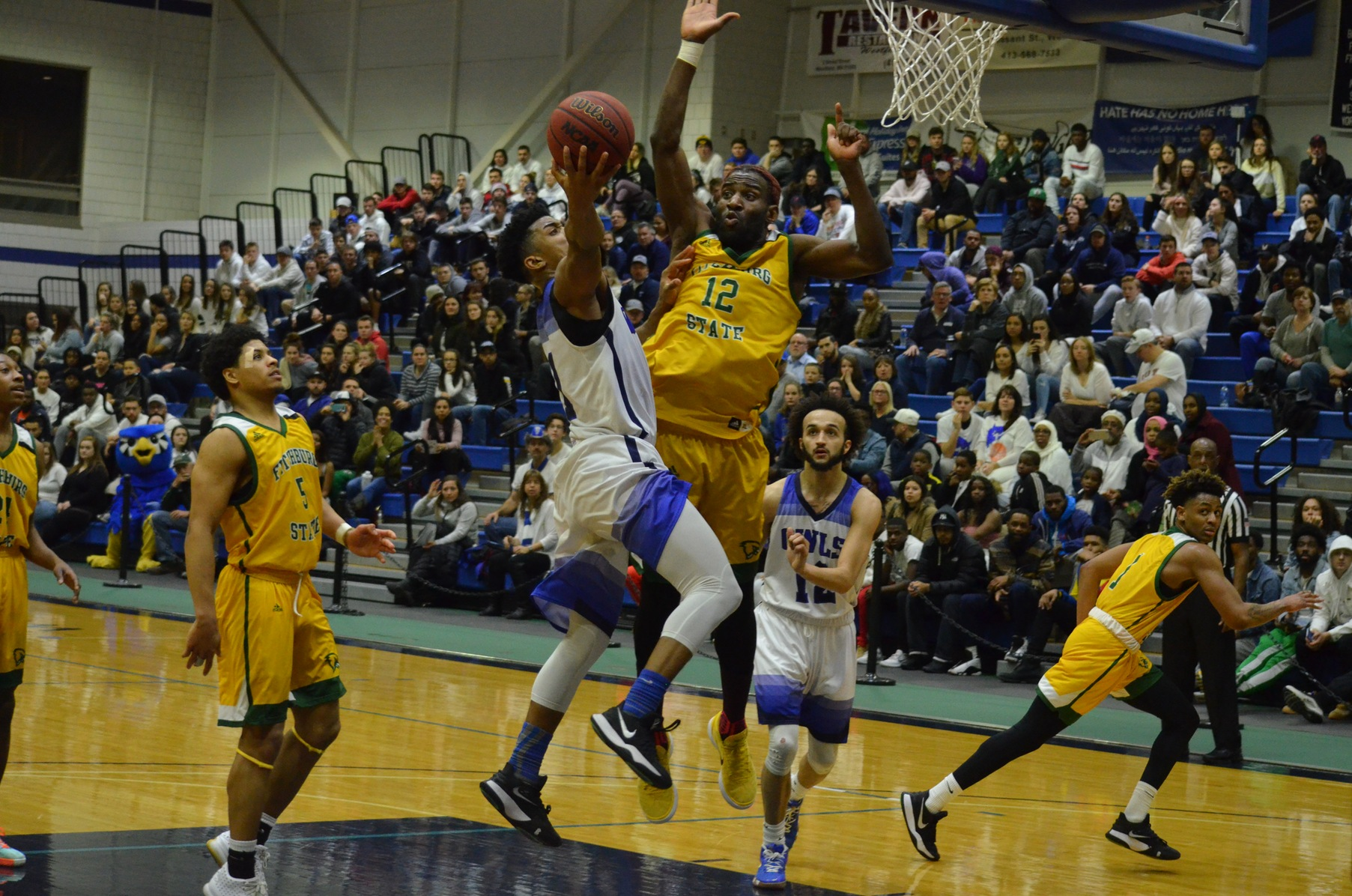 Falcons Clipped By Owls, 78-72 In MASCAC Semifinals