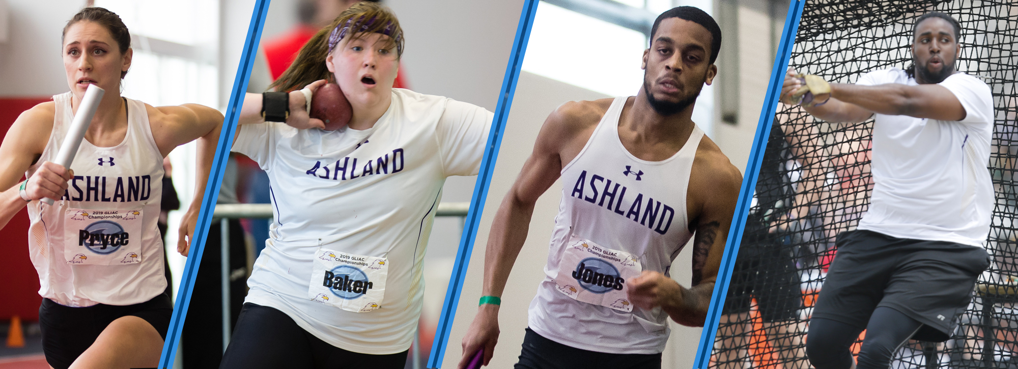 Ashland sweeps Week 1 outdoor track and field honors