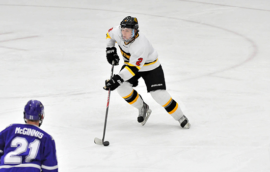Hockey Snaps Losing Streak With Tie at Assumption