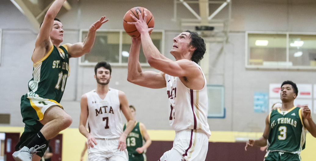 Mounties earn another split in ACAA league play