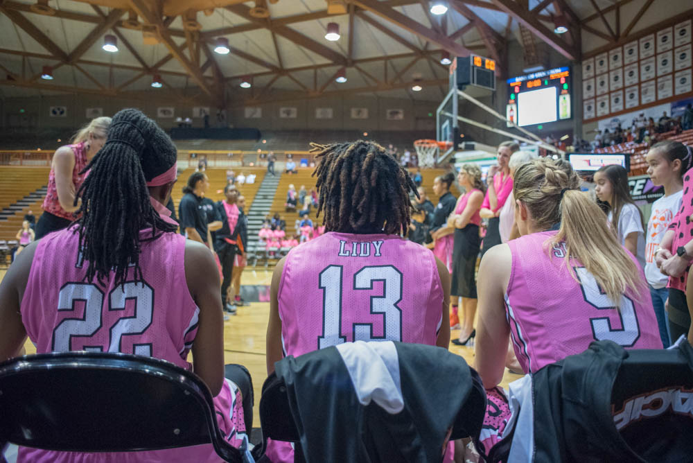 Pacific hosts Play Pink Game, Senior Day on Feb. 16