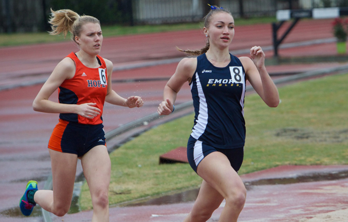 Gabrielle Stravach Sets 1500m School Record on Final Day of Dr. Keeler Invitational
