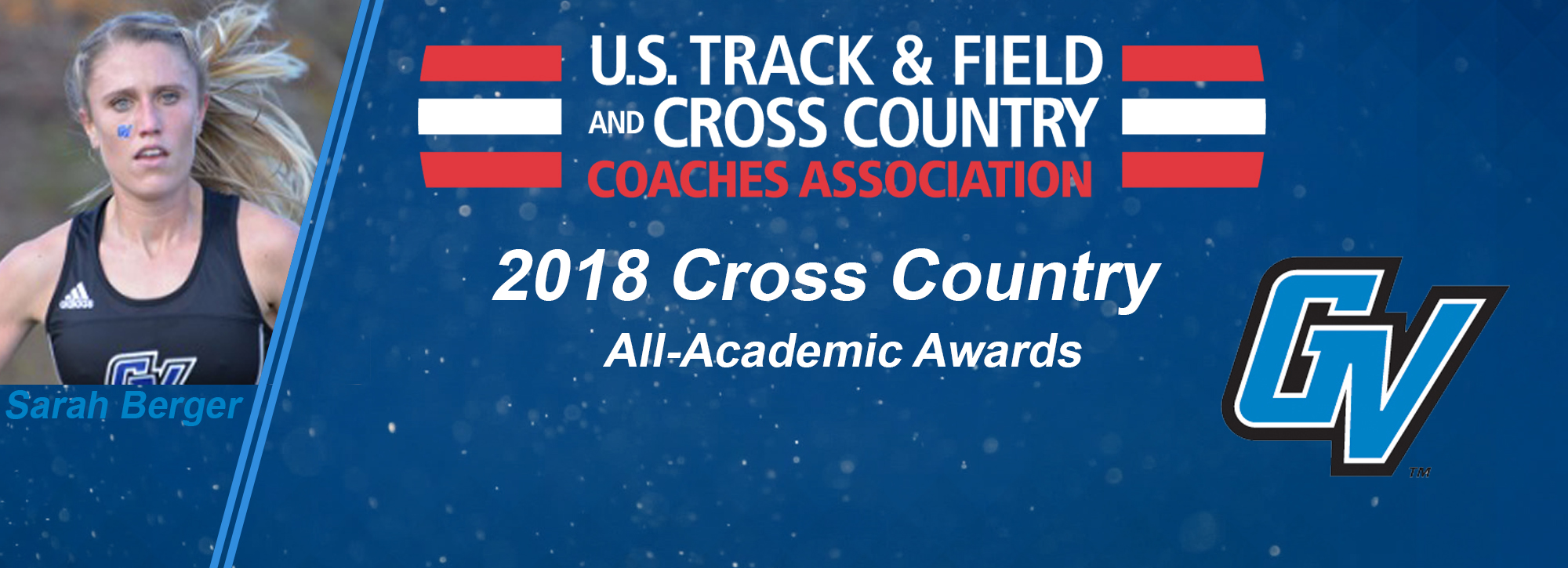 GVSU cross country is the women's DII USTFCCCA Scholar Team of the Year