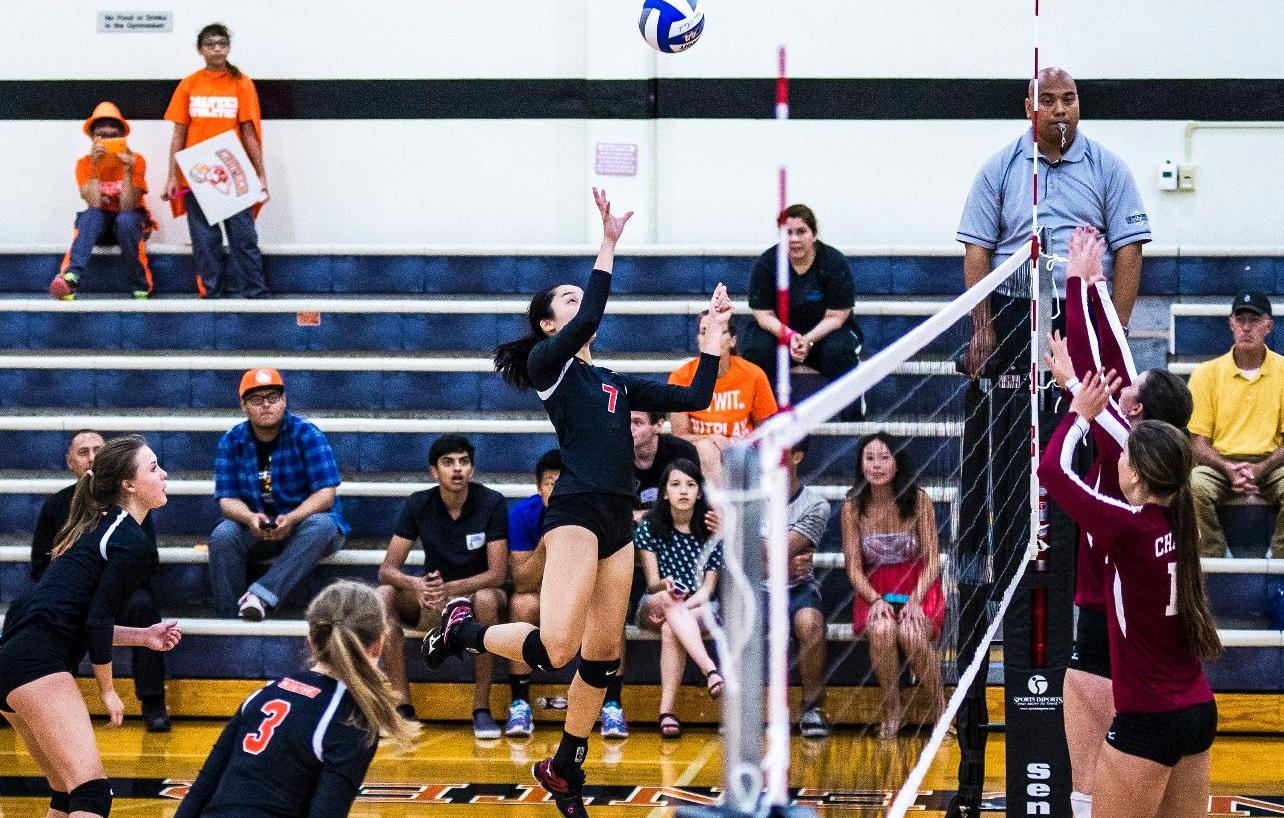 Li Paces Volleyball at La Verne