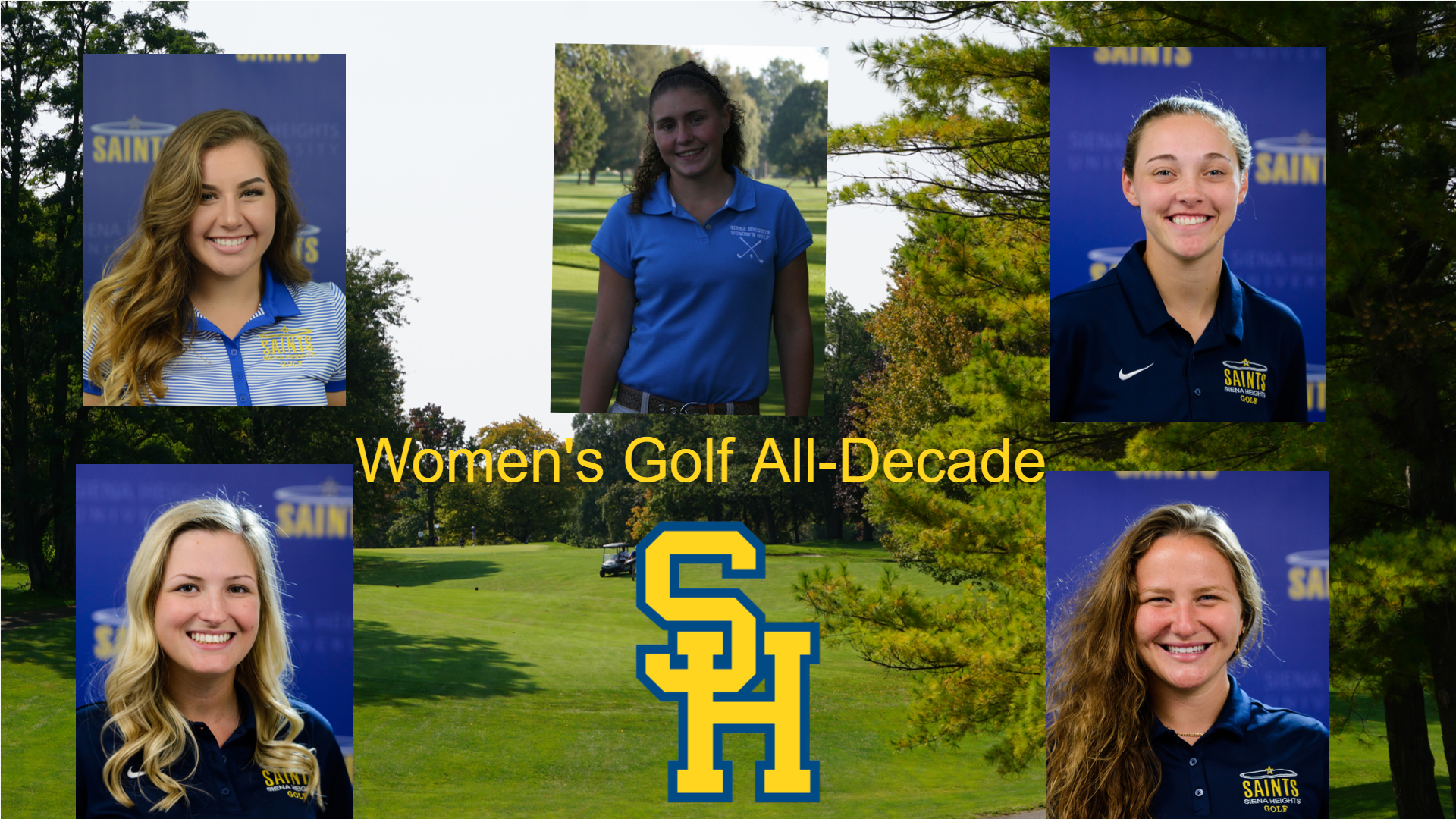 The Siena Heights All-Decade Series: Women's Golf