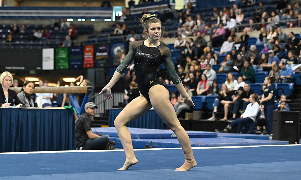 GYMNASTICS SETS NEW SEASON HIGH AT UC DAVIS
