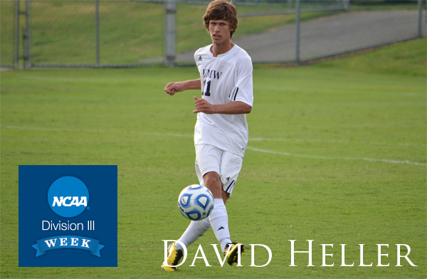UMW Student-Athlete David Heller, on Why He Chose UMW and Division III