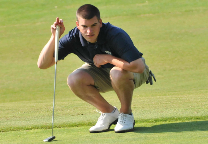 Men's Golf in 13th Place after Day Two of the Mason Rudolph Championship