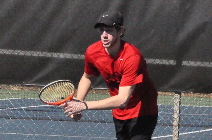 Men's Tennis: Panthers fall to Covenant and Piedmont in final matches of 2016 season