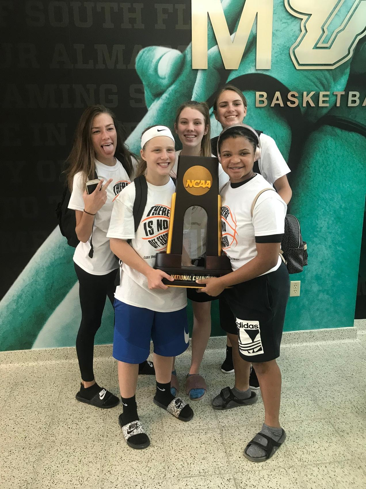 USF Women's Basketball Camp - Tampa Bay Sports Commission