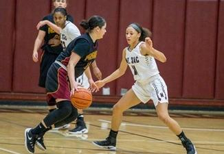 Mt. SAC plays defense against Pasadena City College during Friday's game. (Photo courtesy, Mt. SAC Athletics)