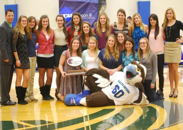 The Salve Regina women's cross country team compiled a 3.13 GPA