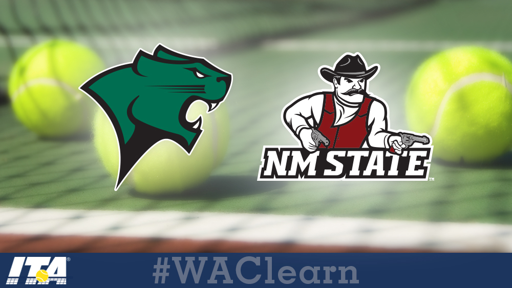 ITA All-Academic Lists Include Two WAC Women's Tennis Teams, 15 Individuals