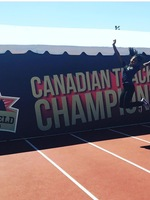 Juanita Webster placed fourth at the Canada Cup in the heptathlon