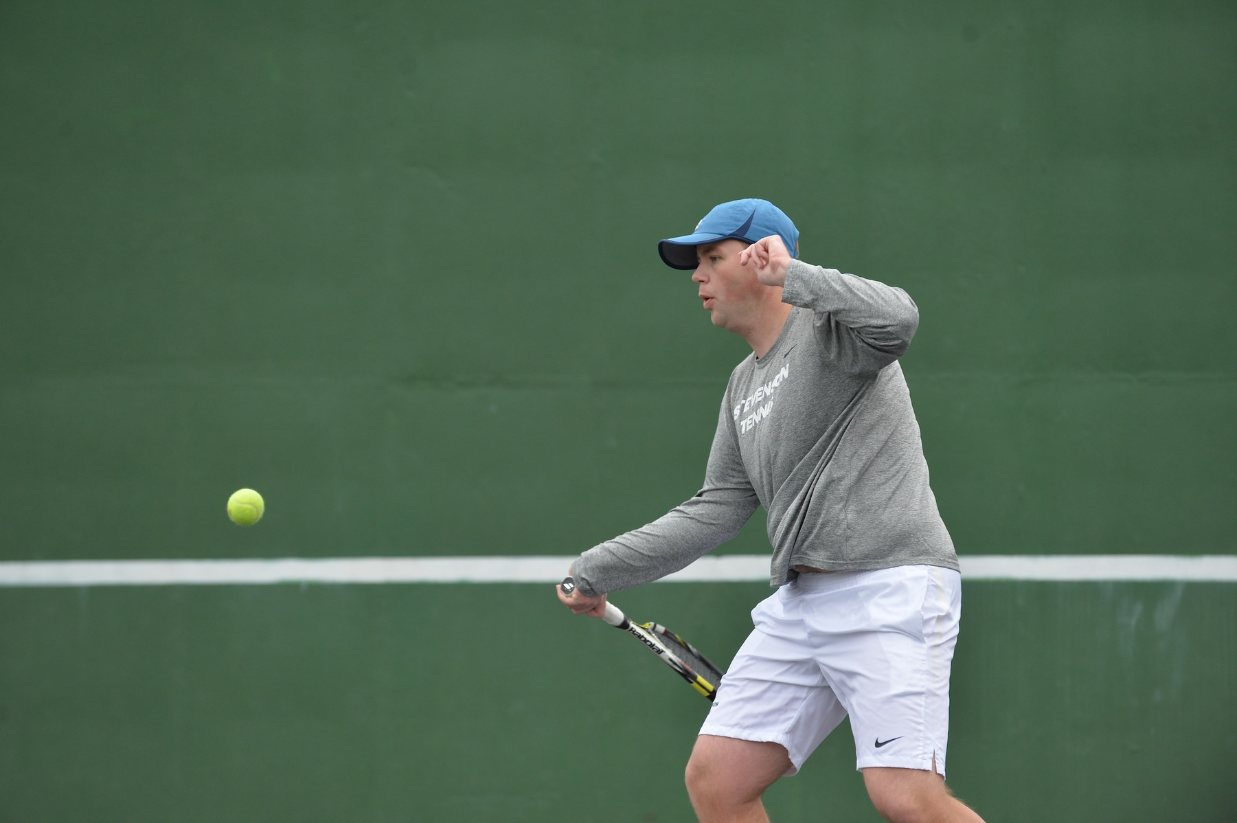 Men's Tennis Cruises to 9-0 Sweep Over Lycoming