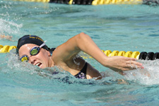 Four School Records Highlight Day One of 2011 America East Swimming and Diving Championships