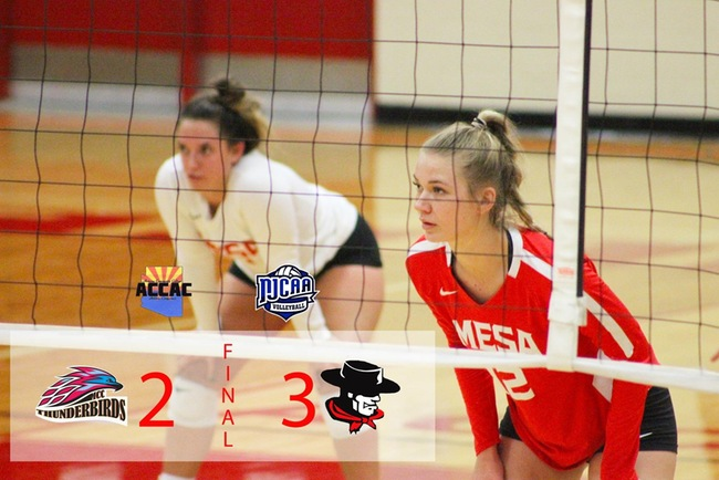 RECAP: #17 Mesa Falls to #4 Glendale in 5 Sets Wednesday Night