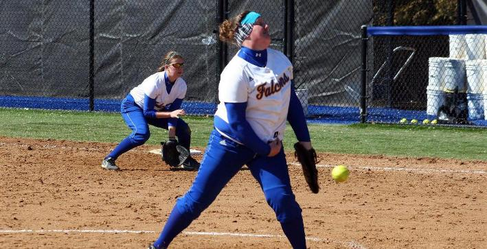 Softball rebounds for game two win, splits with Edgewood in NACC twinbill