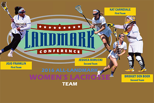Four From Goucher Land On 2016 All-Landmark Team