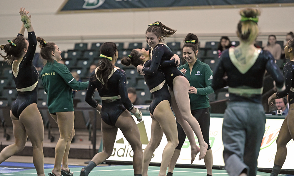 GYMNASTICS TO FACE PAIR OF TOP 25 TEAMS AT DENVER QUAD