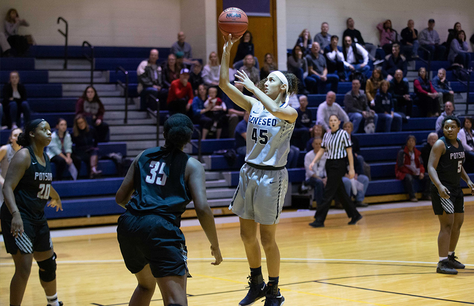 SUNYAC picks Brooks as Women's Basketball Athlete of the Week