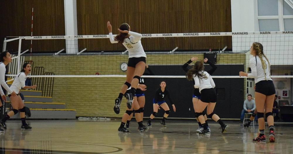 Mariners Volleyball falls to Sierra College 3-0