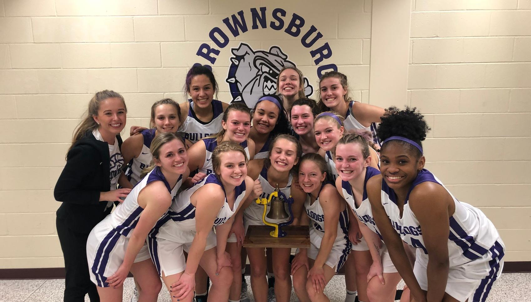 No.13/12 @bhsdogsghoops overpowers Avon in second half to win B&O Trail Rotary Bell
