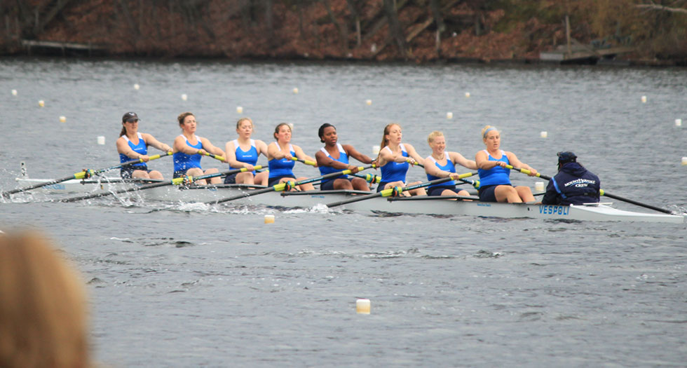 Rowing Competes at New England Rowing Championships