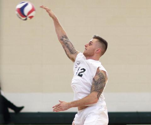 Sage Men's Volleyball squad takes a split in Skyline Play